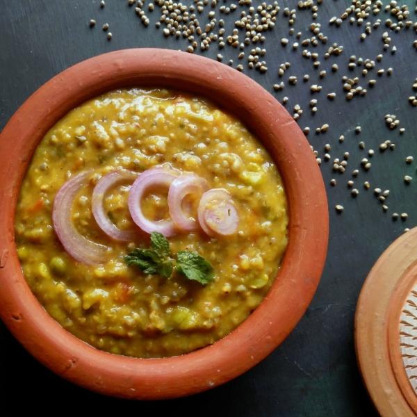 How to make Bajra Khichdi / Pregnanacy Recipe