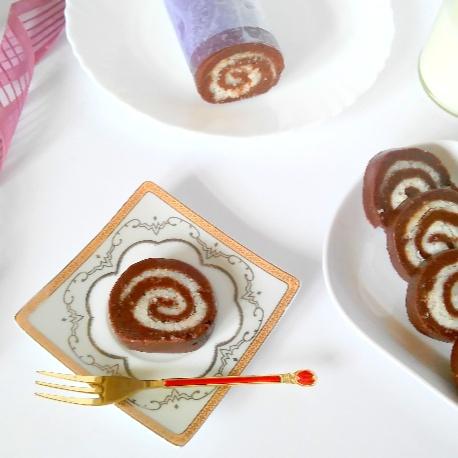 How to make No Bake Chocolate Swiss Roll