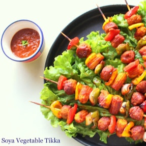Photo of Soya Vegetable Tikka by Poonam Bachhav at BetterButter