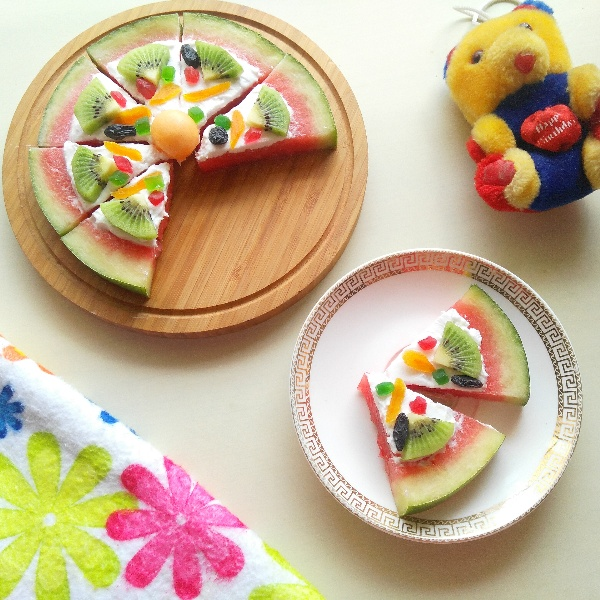 Photo of Watermelon Pizza by Poonam Bachhav at BetterButter