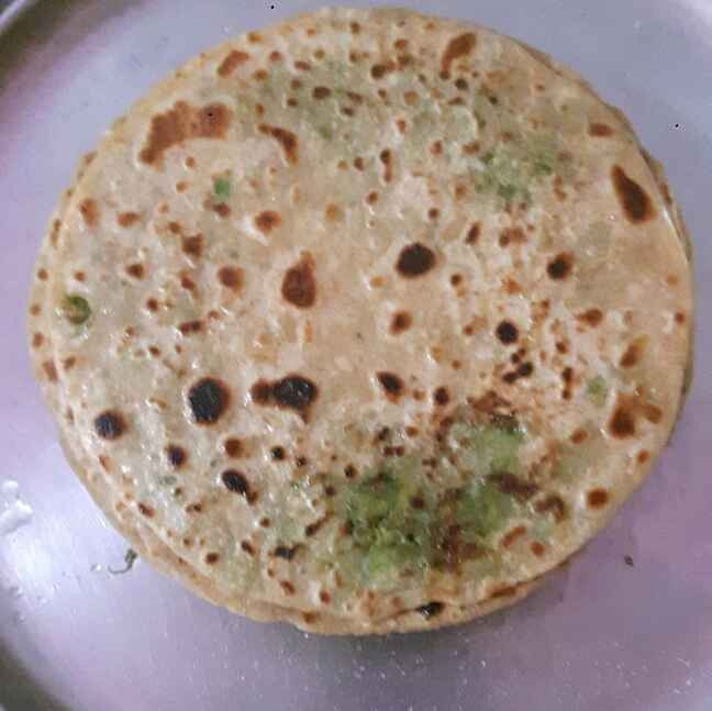 Photo of Green peas(matar) paratha by poonam chauhan at BetterButter