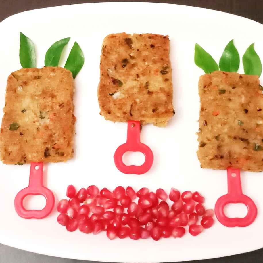 How to make Leftover Rice Namkeen Bars