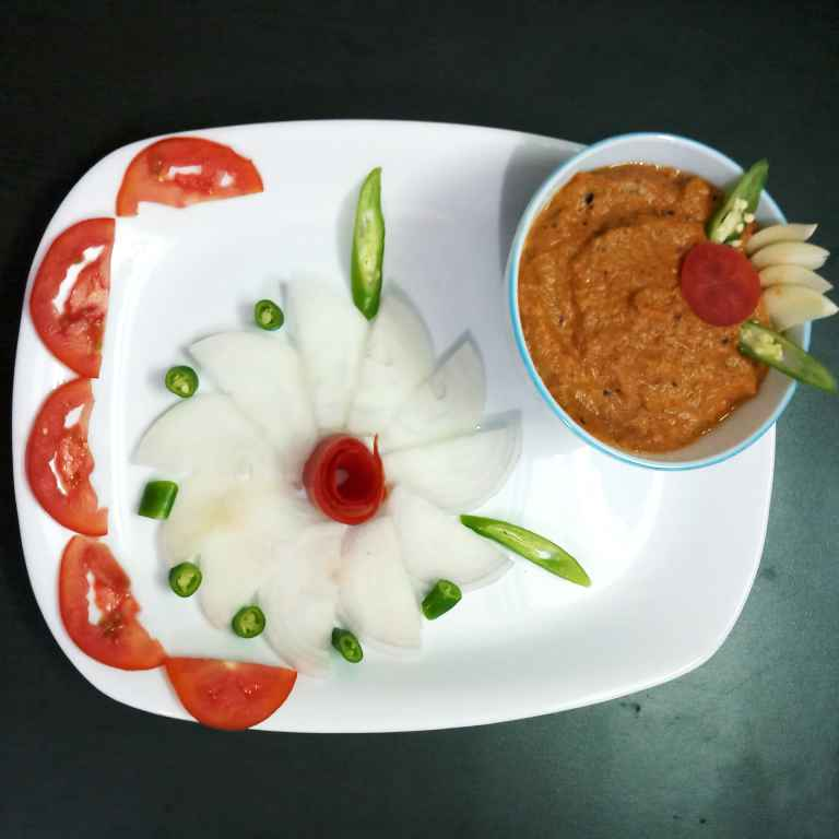 How to make tomato and sesame seeds chutney