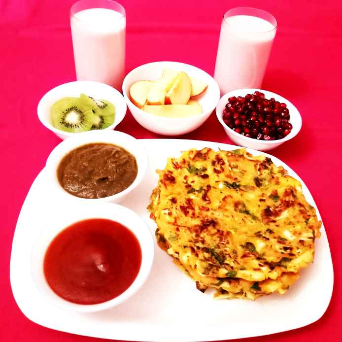 Photo of Vegetable Pancake by Poonam Gupta at BetterButter