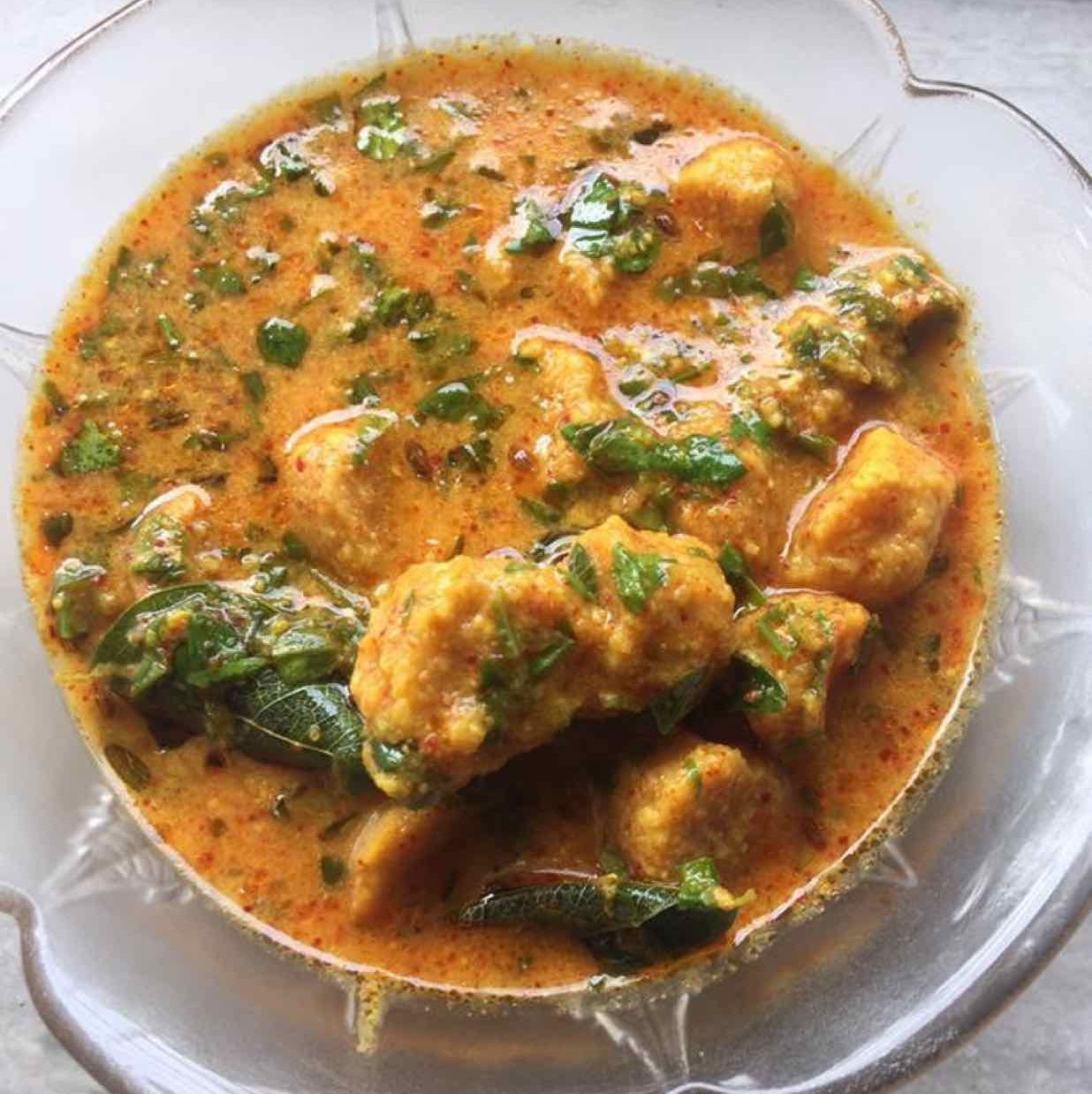 How to make Rajasthani gatte with fresh methi leaves