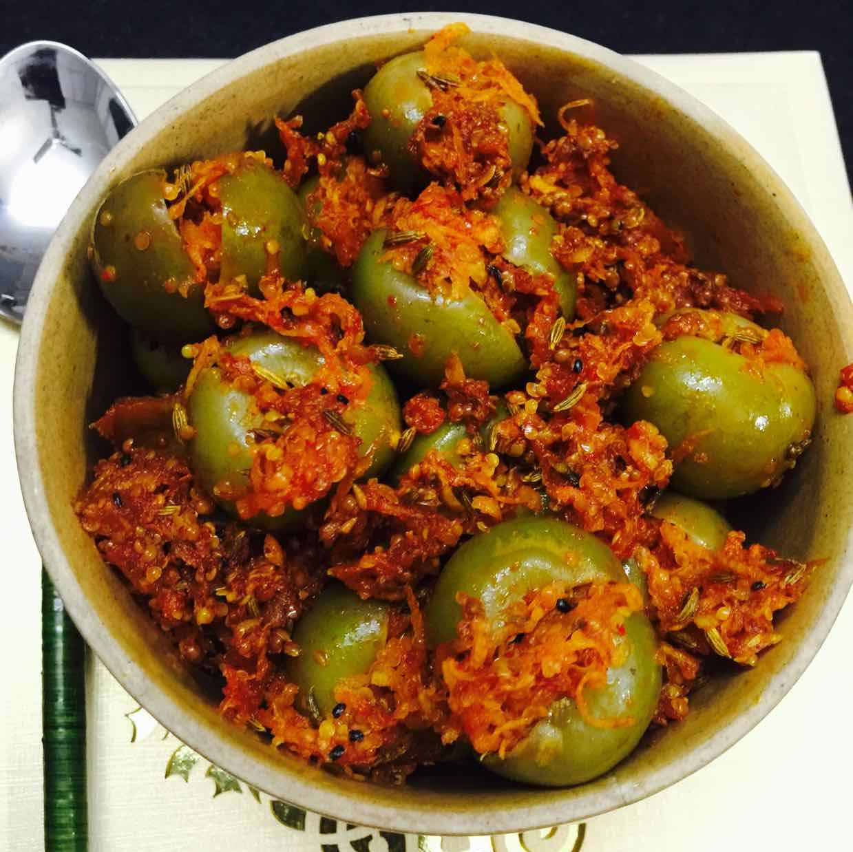 Photo of Gunda / Lasoda Pickle by Poonam Kothari at BetterButter