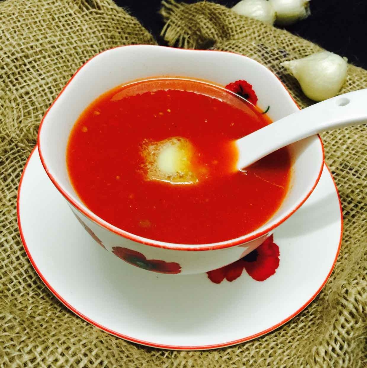 Photo of Tomato soup by Poonam Kothari at BetterButter