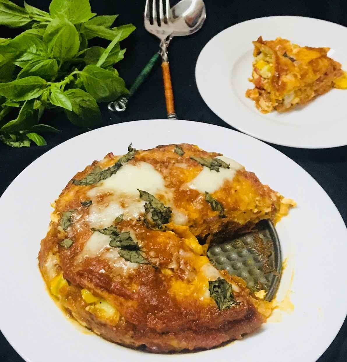 Photo of baked roti lasagna by Poonam Kothari at BetterButter