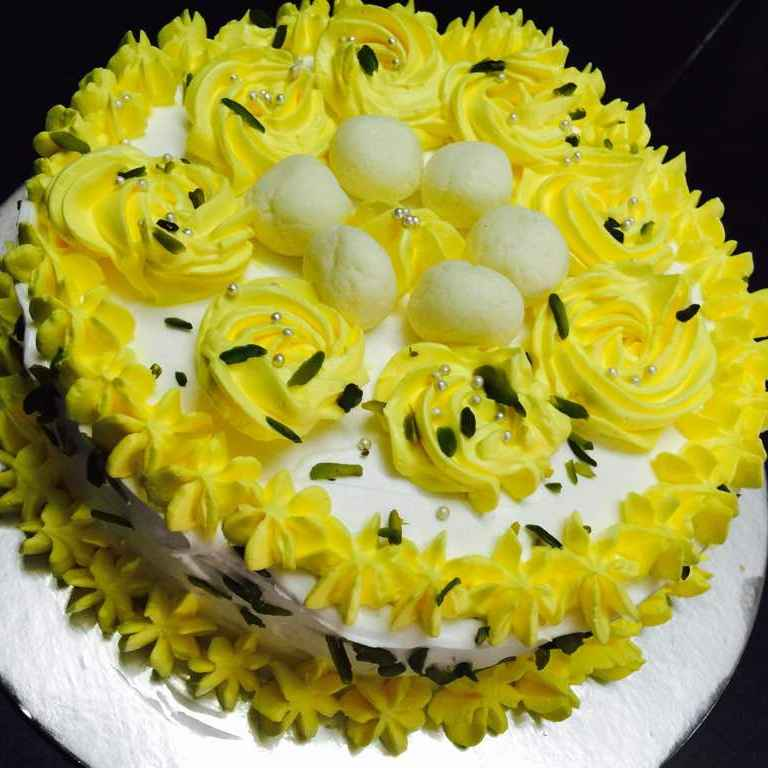 How to make Rasgulla cake