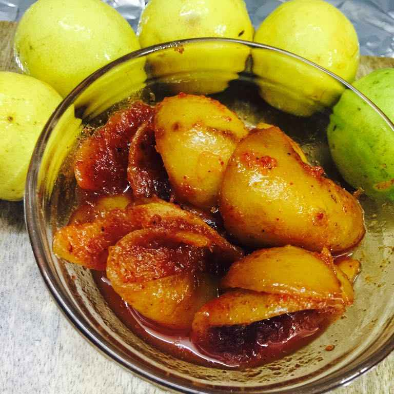 Photo of Nimbu ke chilkon ka instant aachar by Poonam Kothari at BetterButter