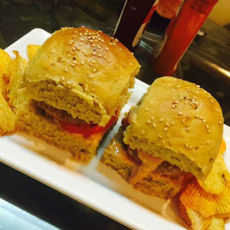 Photo of Whole wheat burger by Poonam Kothari at BetterButter