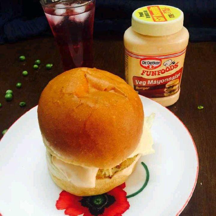 Photo of Veg Burger by Poonam Kothari at BetterButter
