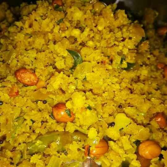 How to make Bhakriche pohe