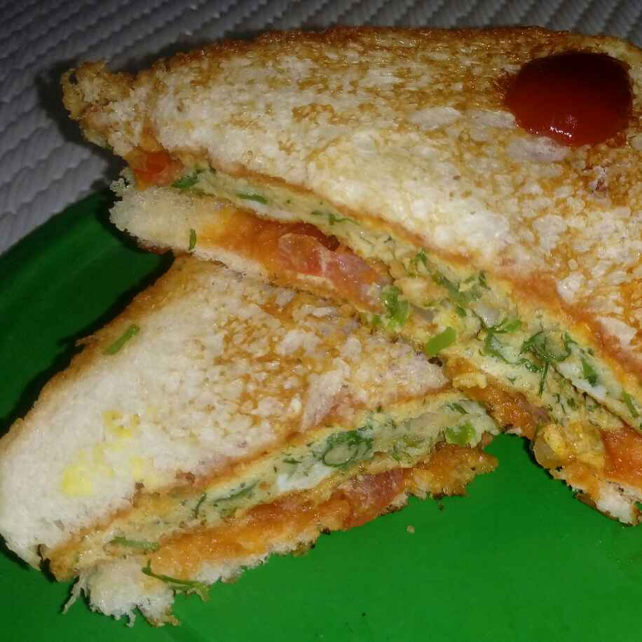 Photo of Bread omlate sandwich by Poonam Nikam at BetterButter