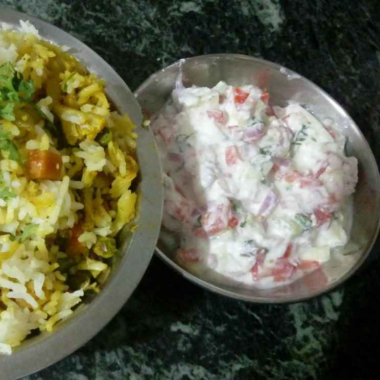 Photo of Mix Veg Palak Pulav/Biryani by Poonam Nikam at BetterButter