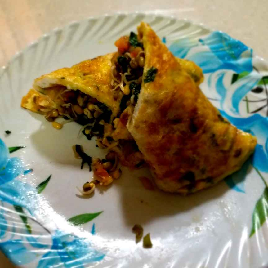 How to make Sprout egg roll