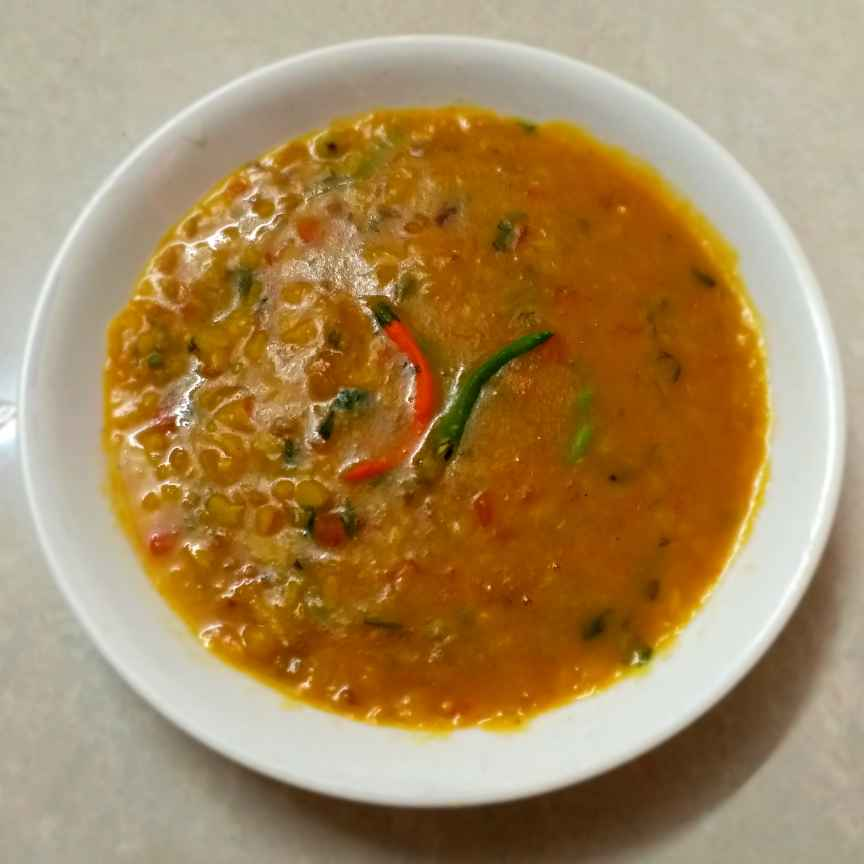 Photo of Daal Tadka (zero oli) by Poonam Nikam at BetterButter