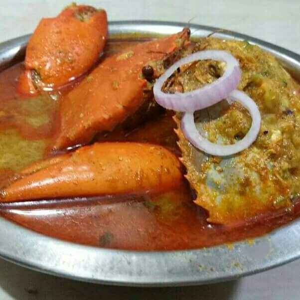 How to make stuff crab curry