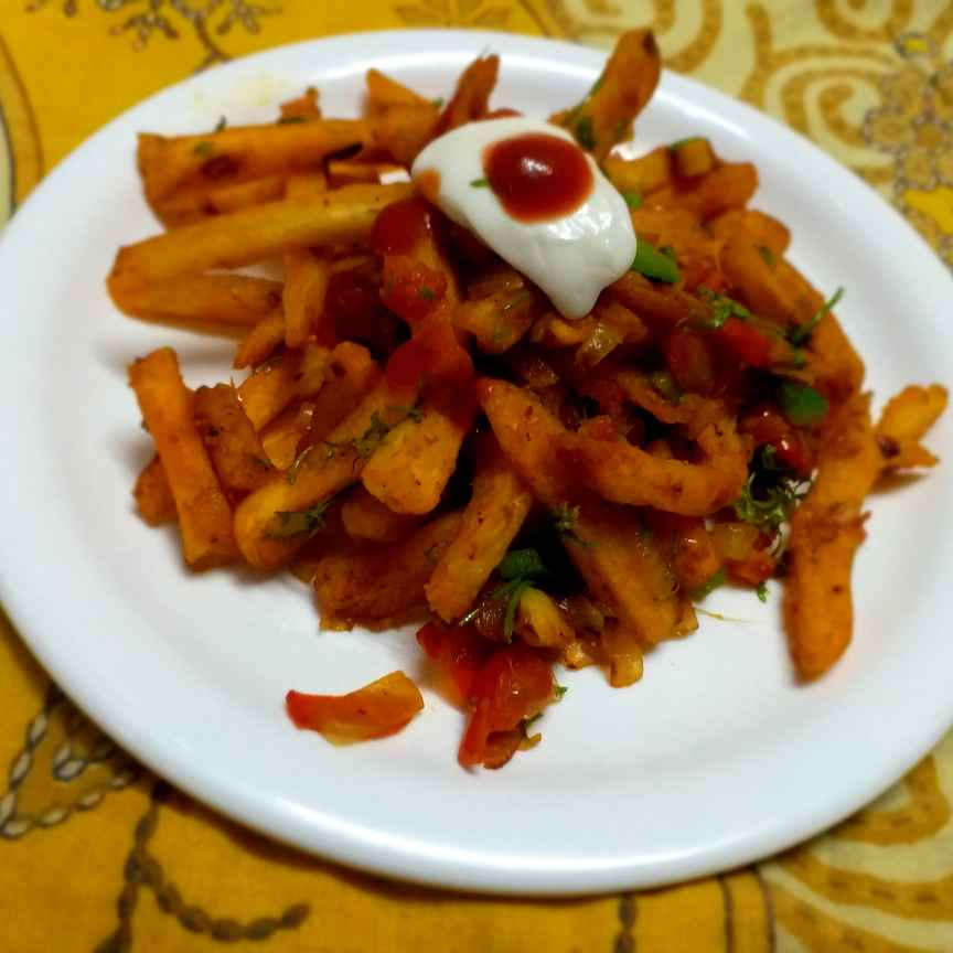 Photo of Masala French Fries by Poonam Nikam at BetterButter