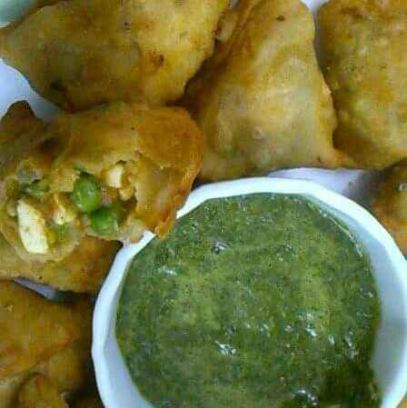 Photo of Matar Paneer Samosas by Poonam Puri at BetterButter