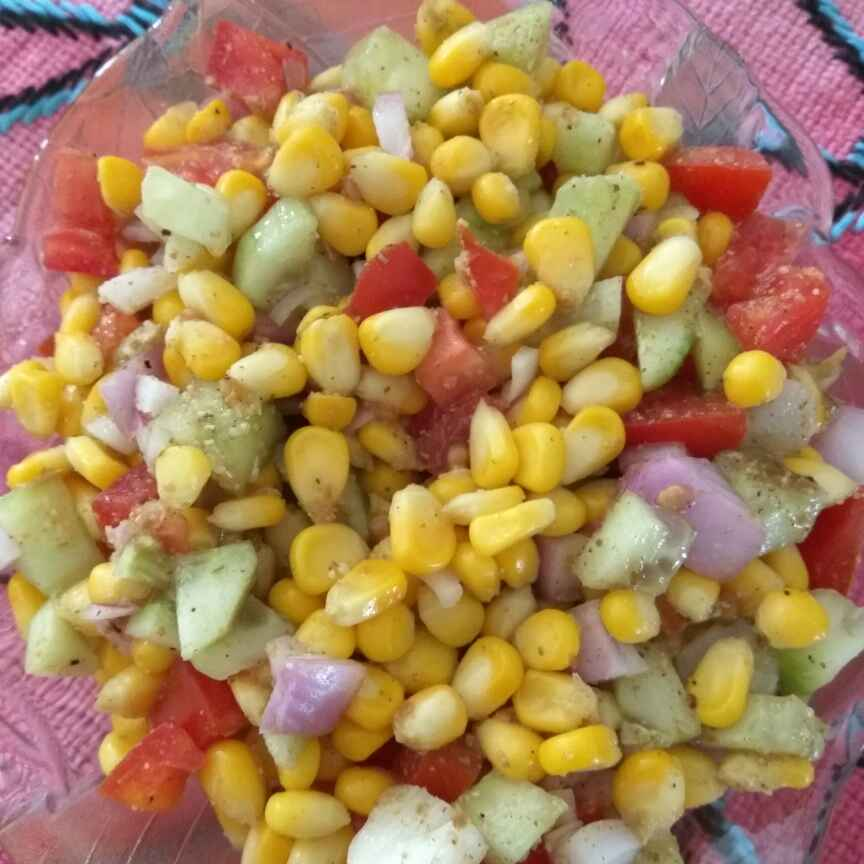 Photo of Corn Salad by Poonam Puri at BetterButter