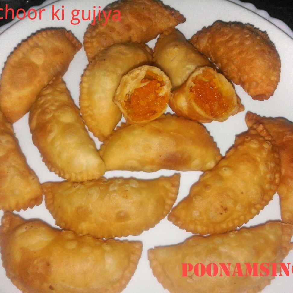 Photo of Motichur ke gujiya by Poonam Singh at BetterButter