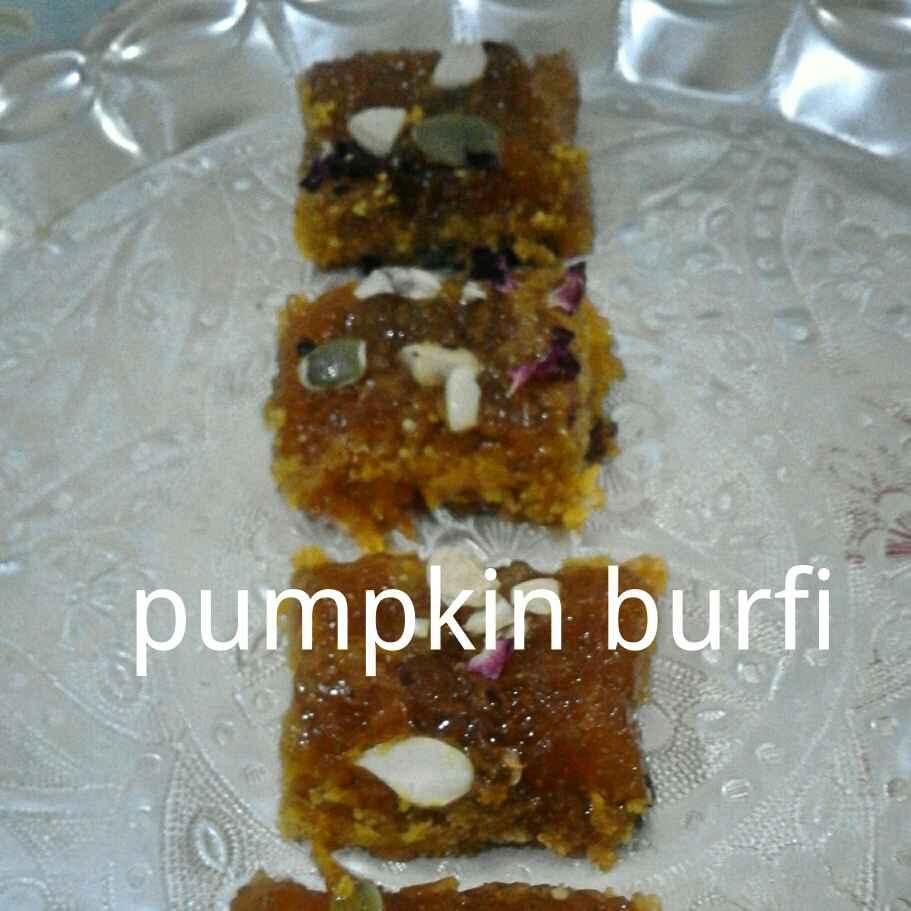 Photo of Pumpkin burfi by Poonam Singh at BetterButter