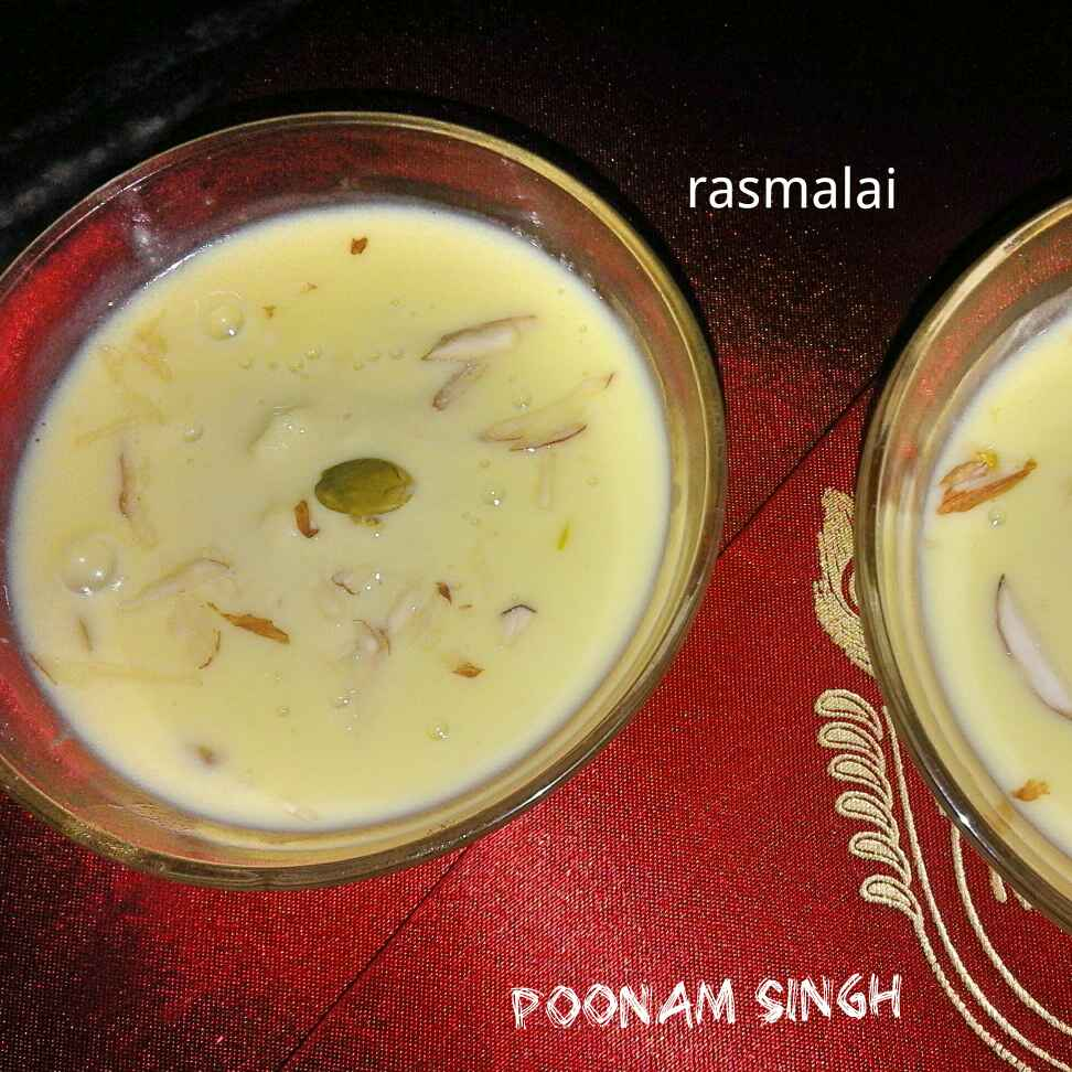 Photo of Jhatpat rasmalai by Poonam Singh at BetterButter