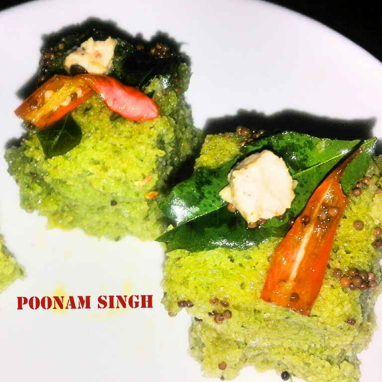 Photo of Hara bhara dhokla by Poonam Singh at BetterButter