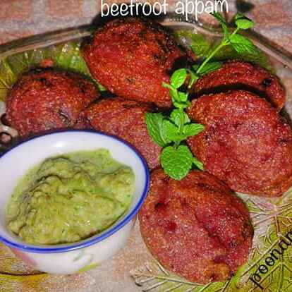 Photo of Betroot(chukandar)appe by Poonam Singh at BetterButter