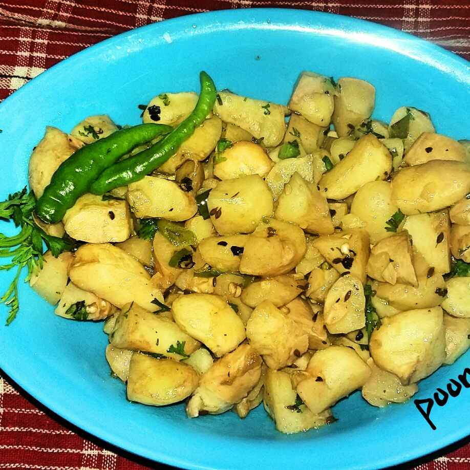 Photo of Singhada fry by Poonam Singh at BetterButter