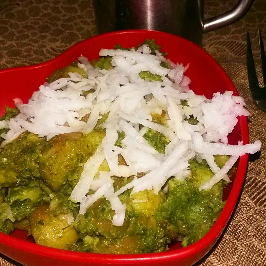 Photo of Hare dam aalu chat by Poonam Singh at BetterButter