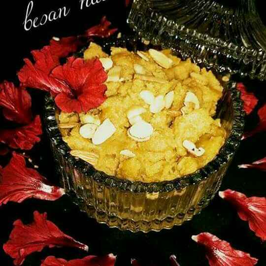 Photo of Besan ka halwa by Poonam Singh at BetterButter