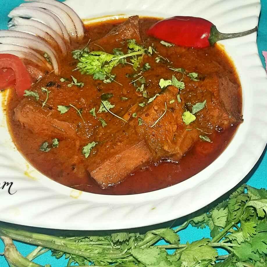How to make Kathal ki masaledar sabji  (halwai style me )