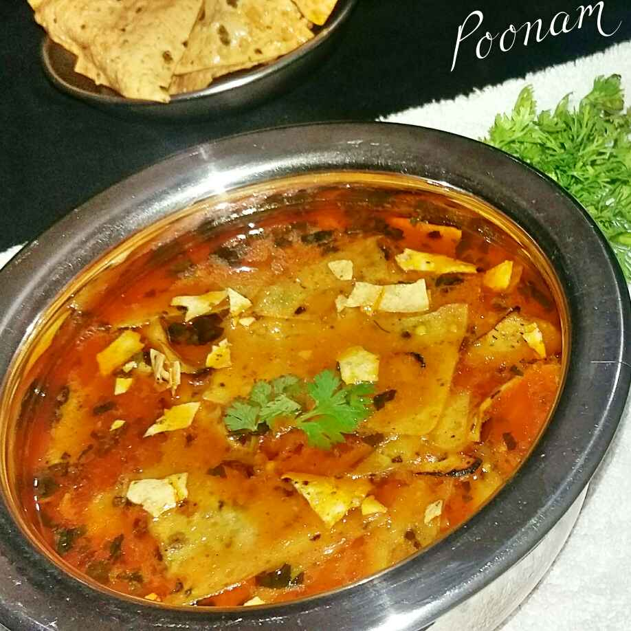 Photo of Papad ki sabji by Poonam Singh at BetterButter