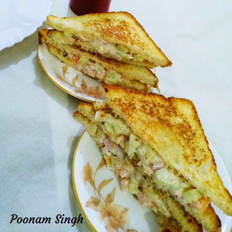 Photo of Mayo sandwich by Poonam Singh at BetterButter
