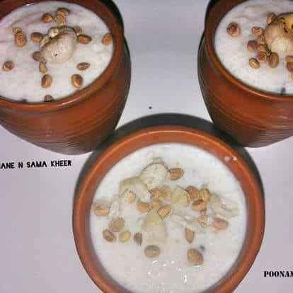 Photo of Samak rice & Makhana kheet by Poonam Singh at BetterButter