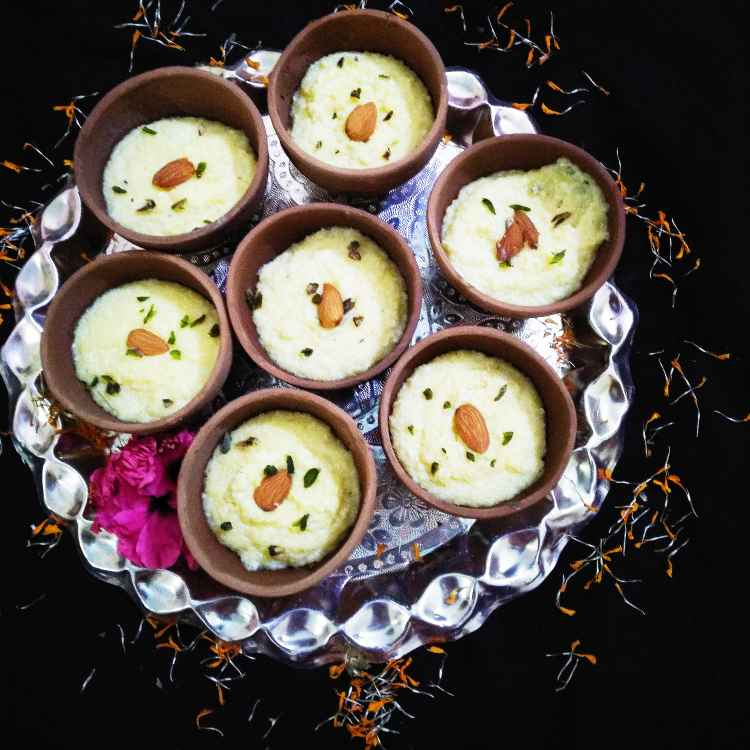 Photo of Saffron flavour rice firni by Poonam Singh at BetterButter