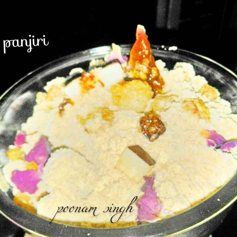How to make Waterchestnut flour panjiri