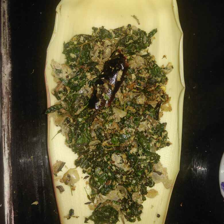 Photo of Drumstick leaves plantain flower curry by poorani Kasiraj at BetterButter
