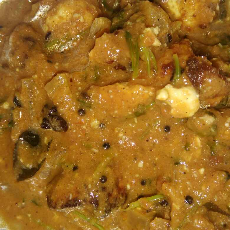 Photo of Paneer gravy by poorani Kasiraj at BetterButter