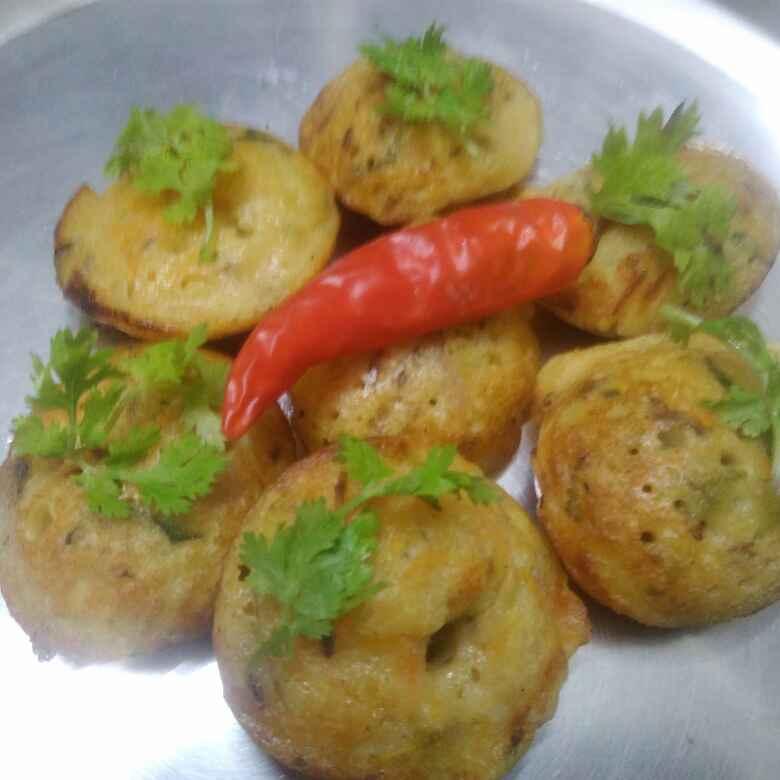Photo of vegetable paniyaram by poorani Kasiraj at BetterButter