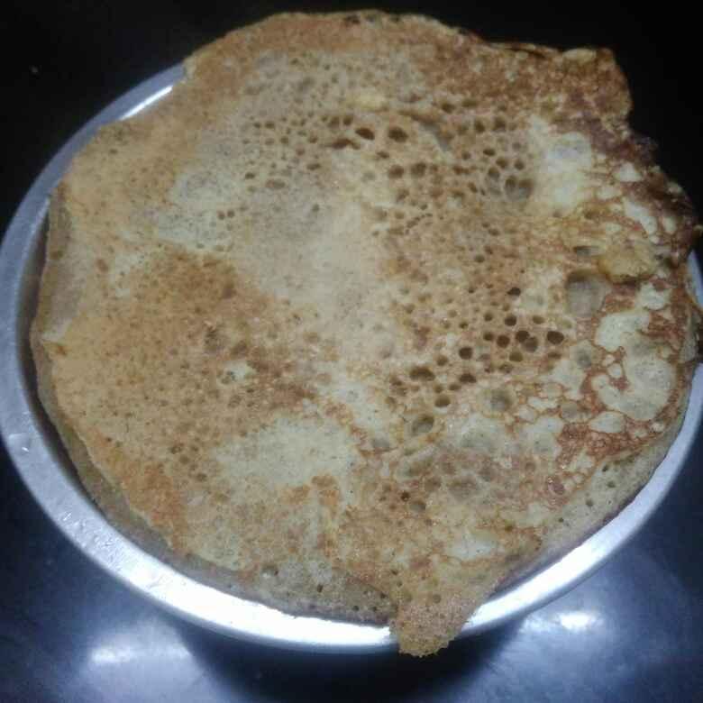 Photo of Wheat palm jaggery pancake by poorani Kasiraj at BetterButter