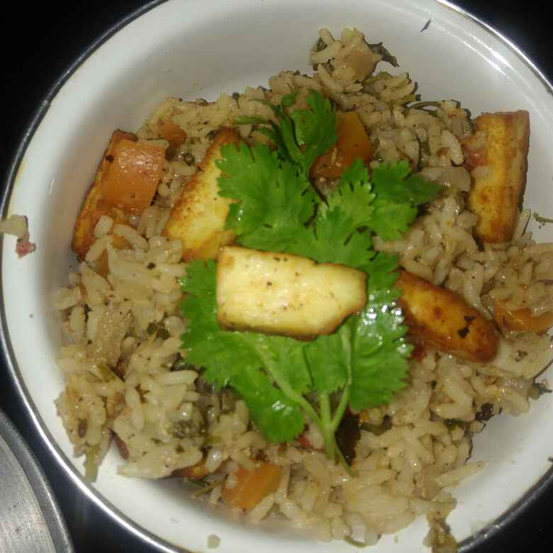 Photo of Paneer pulav by poorani Kasiraj at BetterButter