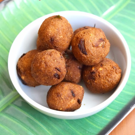 Photo of Yam Kola Urundai / Senaikkizhangu Kola Urundai / Spicy Yam Balls by Poornima Porchelvan at BetterButter