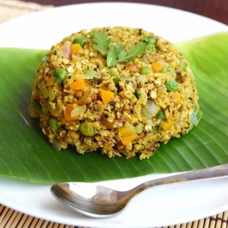 Photo of Oats Vegetable Upma / Oats Upma by Poornima Porchelvan at BetterButter