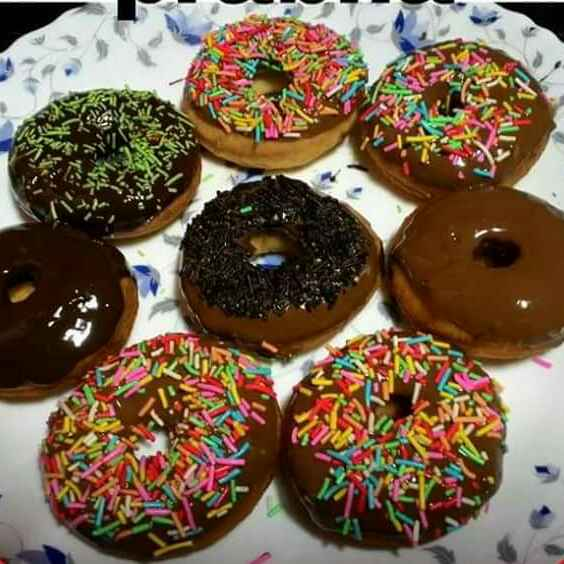 Photo of Chocolate donat by Prabha Goel at BetterButter