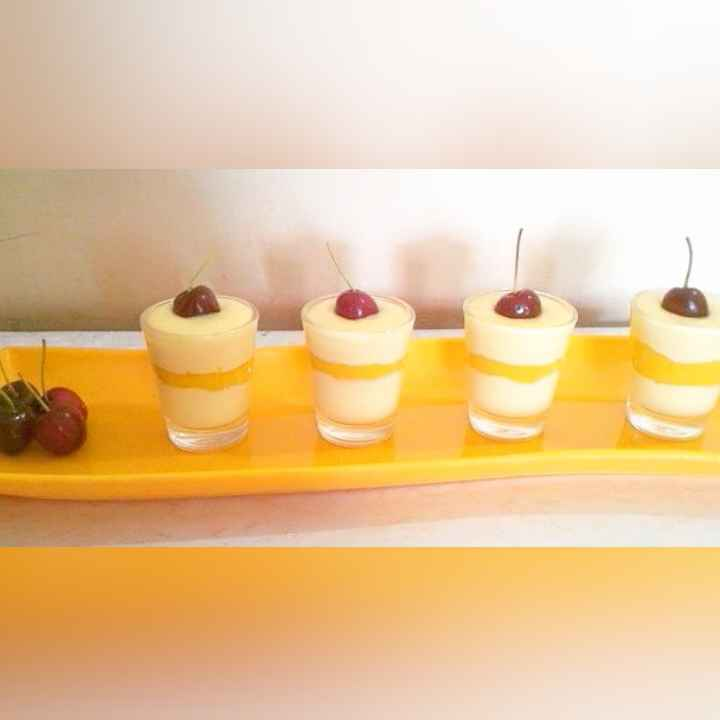 Photo of Mango Vanilla Custard Shots by Prabhleen Kaur at BetterButter