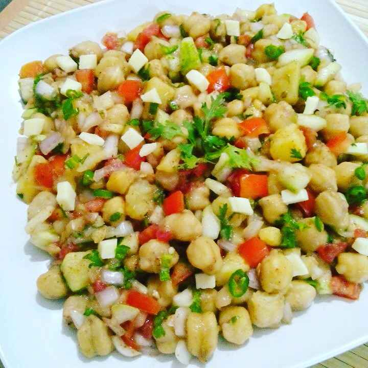 Photo of Chickpea Salad by Prabhleen Kaur at BetterButter