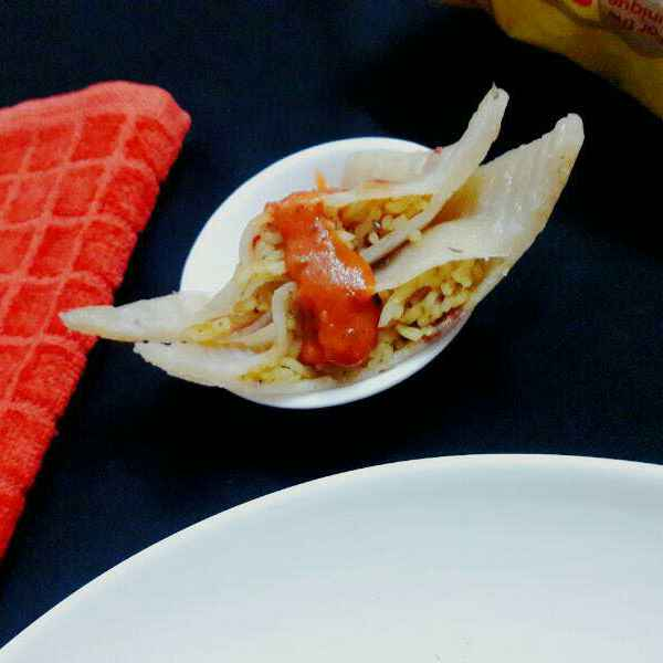Photo of Maggi Ravioli with tomato basil sauce by Prabhleen Kaur at BetterButter